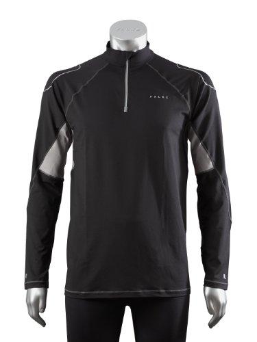 Falke Claud T-Shirt de Course à Manches Longues pour Homme Noir Noir XL