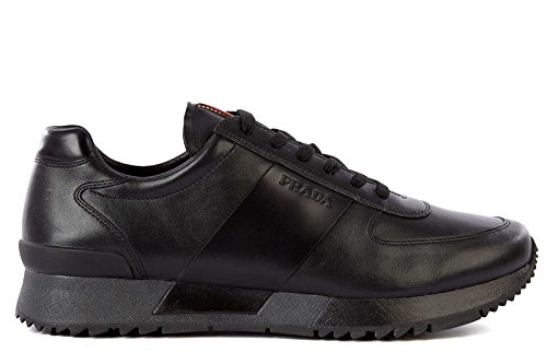 Prada Men's Shoes Leather Trainers
