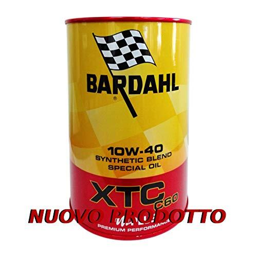 Bardahl XTC C60 10W40 ACEA A3-B4 API SN-CF - Aceite para Motor de Coche, 4 litros