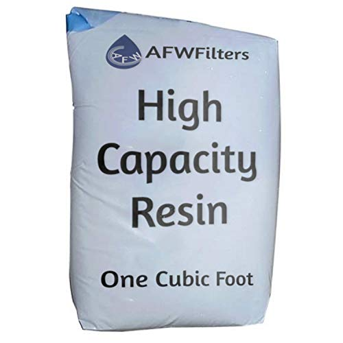 1 cubic foot, single bag of High Capacity 8% cross like Cation, Water Softener Replacement Resin