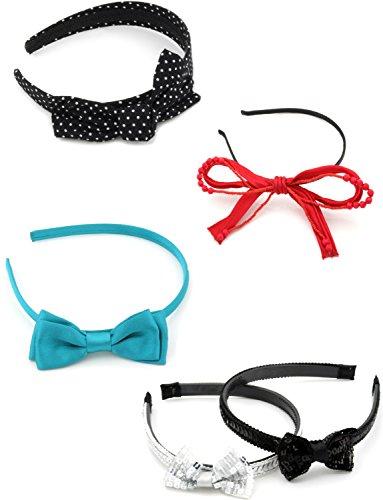 Zest 5 mixtes Alice Bandes Accessoires Cheveux avec nœud