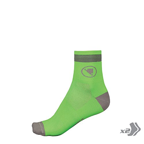 Endura 2er Pack Luminite Socken grün