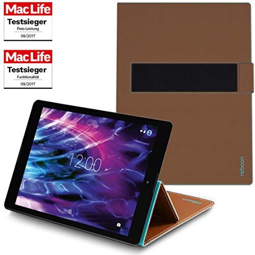 Hülle für Medion Lifetab P9702 Tasche Cover Hülle Bumper | in Braun | Testsieger