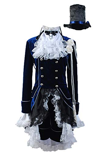 Ya-cos Halloween Black Butler Kuroshitsuji Ciel Phantomhive Cosplay Costume Sets