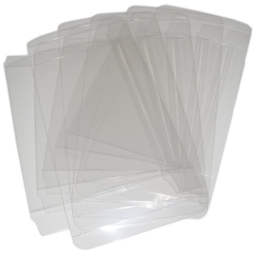 10 VGM Custom Clear Plastic Box Protectors for SNES & N64 Boxed Games