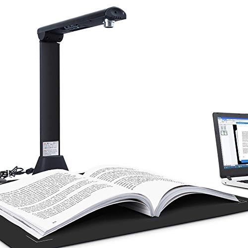 Cámara de Documentos Bamboosang X9, Escáner de Libros de Alta Definición de 21 Megapíxeles, Tecnología Flat-Flatten & Deskew, Tamaño de Captura A3, OCR Inteligente en Varios Idiomas, SDK y Twain