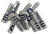 Filtro al carbone attivo 9 mm per pipa, Molina, confezione da 80 made in Germany