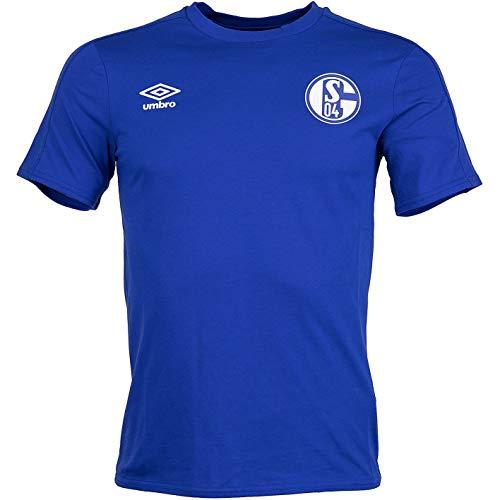 FC Schalke 04 Umbro CVC T-Shirt (M, blau)