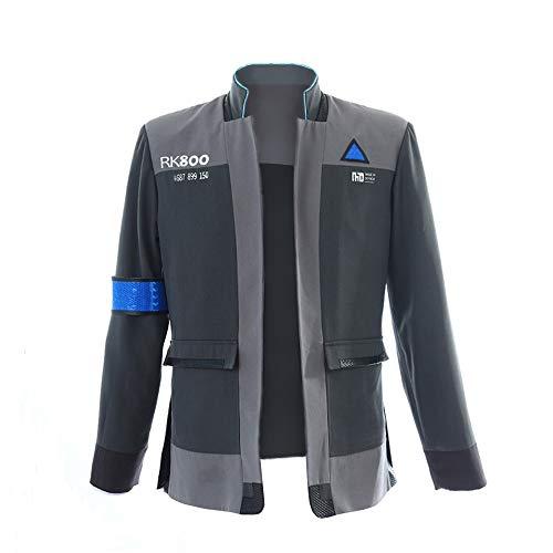 mangu COSTORY Become Human Connor Jacket Cosplay Costume Men Coat Uniform Suit (S, Coat)