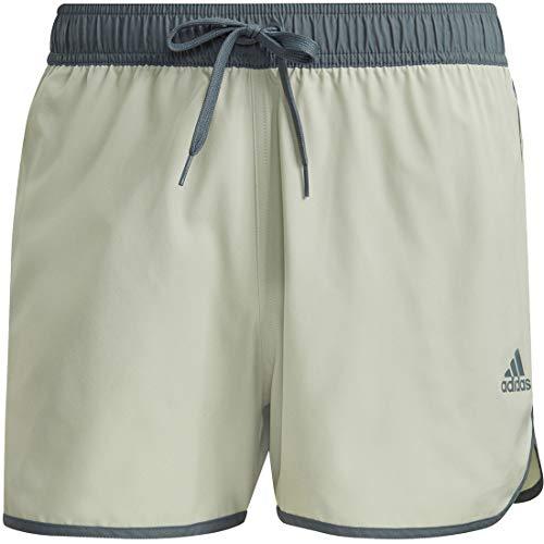 adidas Split Clx SH Maillot de Bain pour Homme, Homme, Slips de Bain, GQ1079, Multicolore (Verhal/Oxiazu), L