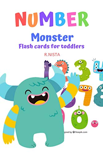 Monster funny : NUMBER nonster alphabet, flashcards alphabet for toddlers (Children's Book alphabet Animal Stories 2) (English Edition)