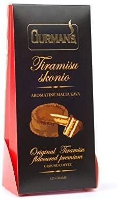 Café molido con sabor Gurmans 125g
