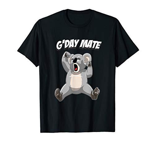Sleepy Koala Bear G'day Mate - Cute Australian Koalas T-Shirt