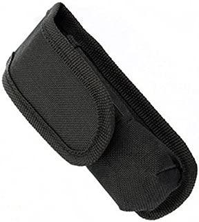 JUNGEN Linterna Antorcha caso Cubierta Protectora Port/átiles C8 Linterna Bolsa de Nylon con Hebilla de Cintur/ón General Negro