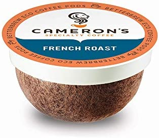 Cameron s Coffee Single Serve Pods French Roast 12 Count Pack of 6 product image