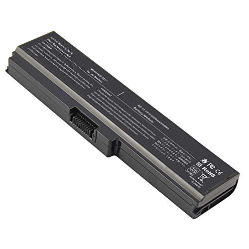 Battery for Toshiba L675 L750 L700 L755 P755 P750 C655 A655 A665 C655D L755D L755-s5167 L755-s5170 L755-s5175 L755-s5213 Satellite, Replace with Toshiba Battery PA3817U-1BRS PA3818U-1BRS