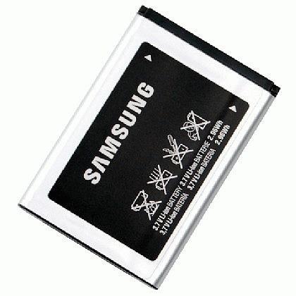 Samsung Akku AB463446BU passend für Samsung E1120, Samsung E1107 Crest Solar, Samsung X680, Samsung D730, Samsung X540, Samsung D720, Samsung X530, Samsung D520, Samsung X520, Samsung C520, Samsung X510, Samsung C450, Samsung X500, Samsung C300, Samsung X300, Samsung C270, Samsung X210, Samsung C260