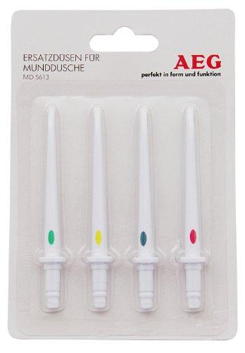 AEG MD 5613 - Pack de 4 boquillas de repuesto para irrigador bucal