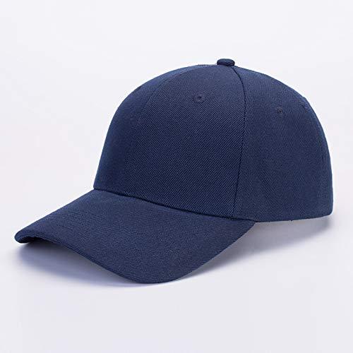 sdssup Cappello a Tesa Piatta Ricamato Cappello Coreano di Pescatore Berretto da Baseball Cappello Pescatore Hip-Hop Blu Scuro Regolabile