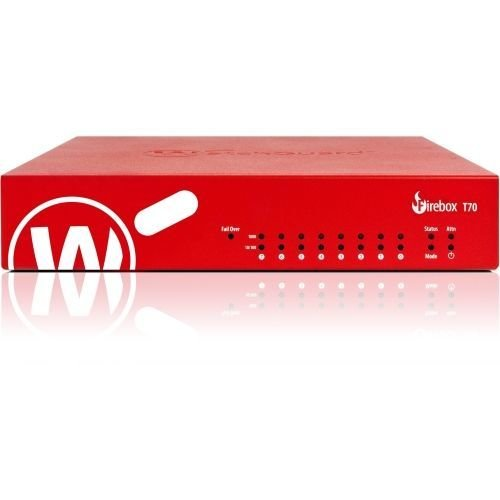 WatchGuard Firebox T70 High Availability + 3Y Standard Support (WW) firewall (hardware) 4000 Mbit/s