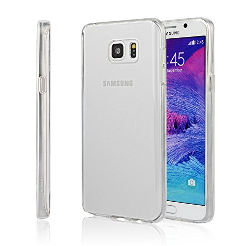 Swees Compatible Galaxy Note 5 Case, Silicone Gel TPU Clear Protective Utra Thin Slim Case Compatible Samsung Galaxy Note 5 (SM-N920), 2015 Released