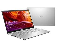 ASUS Notebook (17,3 Zoll FullHD Matt) AMD A4 9125 Dual Core, 8GB DDR4 RAM, 256GB M.2 PCIe, Intel UHD, W-LAN, BT, HDMI, Windows 10 Pro Weiss