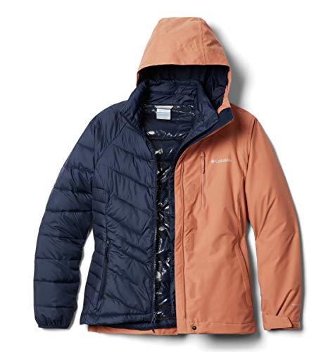 Columbia Jacket Whirlibird IV Interchange Chaqueta, Nova Rosa Crossdye, S para Mujer