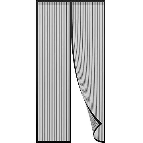 Anpro Tenda Zanzariera Magnetica 120 x 240 CM per Porta con Calamita Moschiera per Porte di Soggiorno Camera da Letto Casa