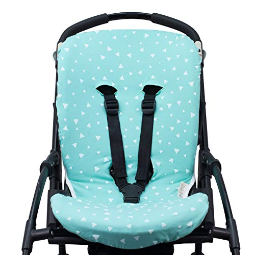 JANABEBE Hoes voor Bugaboo Bee 3, Bee Plus, Bee 5 (Mint Sparkles)