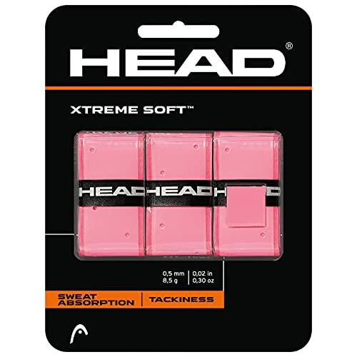 HEAD XTREMESOFT Overgrips, Unisex Adulto, Rosa, Talla Única