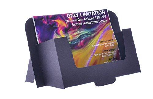 Stand-Store CARD-A5LAN–Dispensador de cartón folleto para A5horizontal, folletos y folletos–negro (Pack de 50)