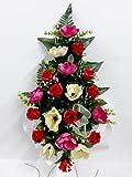 Ramo para Cementerio de Flores Artificiales de Tela para Todos los Santos Medida 60cm. (Mod-131346)