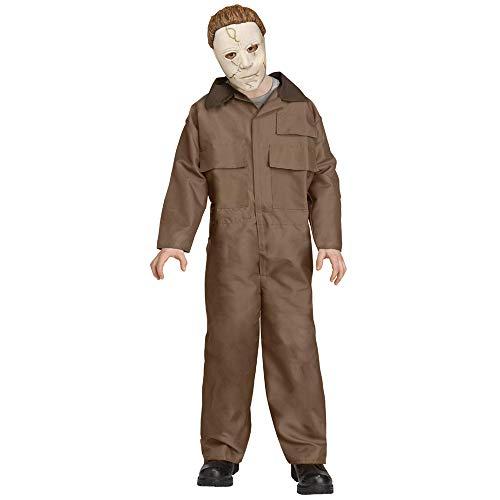 Fun World Disfraz de Halloween de Michael Myers para niños Medium (8-10 Years)