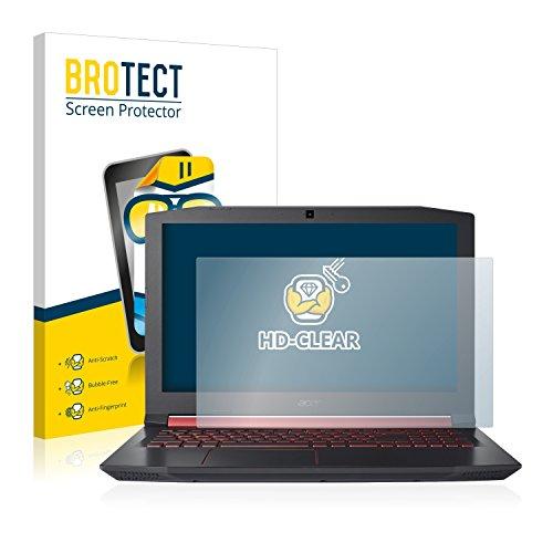 BROTECT Schutzfolie kompatibel mit Acer Nitro 5 klare Bildschirmschutz-Folie