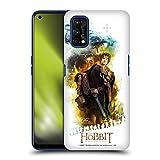 Head Case Designs Licenza Ufficiale The Hobbit The Battle of The Five Armies Bilbo Journey Grafiche Cover Dura per Parte Posteriore Compatibile con Realme 7 PRO