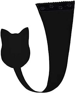 BLACK Cat-simpatico pussycat Donna Bianco 3//4 Manica Corta COTONE T Shirt