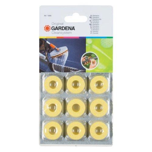 Gardena 1680 Auto-Shampoo-Scheiben, 9 Stück