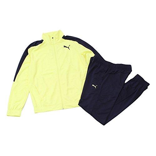 [プーマ] トレーニングウェア スーツ ジャケット パンツ 851933 [メンズ] フィジー イエロー/ピーコート (1...