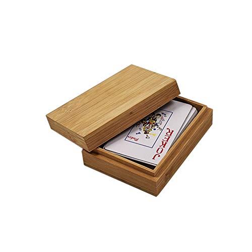 Holz Spielkarten Box, Handgemachte Kartenbox Aufbewahrungsbox, Kartenspiele Box Für Erwachsene Spielezubehör Holz Brettspiel Zubehör