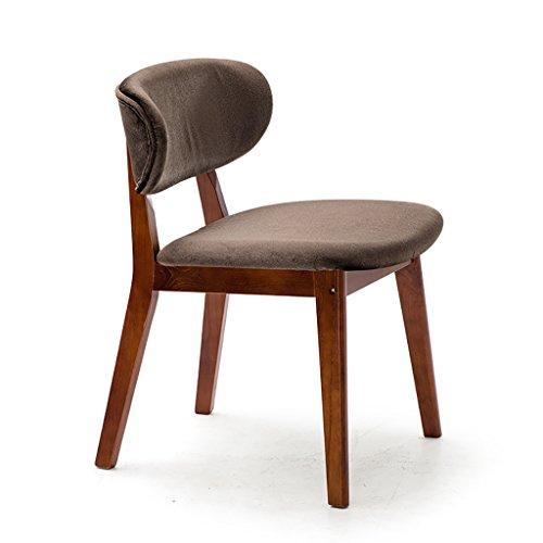 JHDY Sedia a Sdraio Sedia da Pranzo in Legno Semplice comodità Sedia da Studio Sedia da caffè Moderna (Colore : 04)