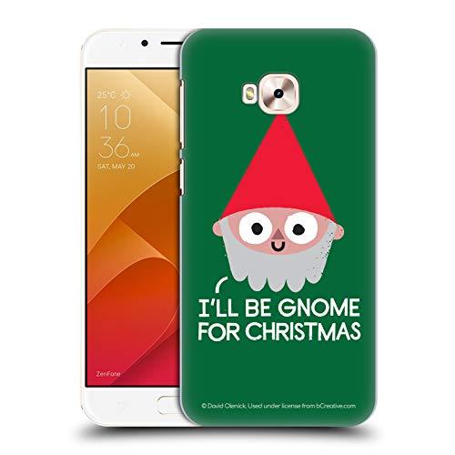 Head Case Designs Ufficiale David Olenick Gnomo Vacanze Cover Dura per Parte Posteriore Compatibile con Zenfone 4 Selfie PRO ZD552KL