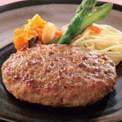 やわらかハンバーグ 120g×10個 (nh181476) オーブンか揚げるだけの簡単調理