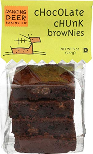 Dancing Deer Baking Co Chocolate Chunk Brownies, 8 Ounce -- 12 per case.
