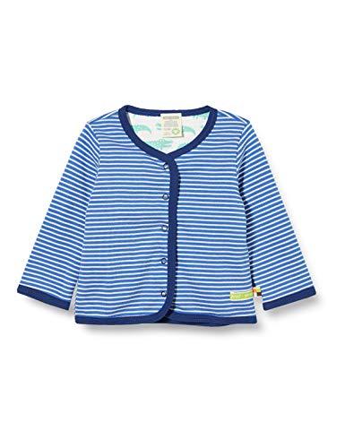 loud + proud Baby-Jungen Reversible Jacket Organic Cotton Jacke, Blau (Cobalt Cob), (Herstellergröße: 98/104)