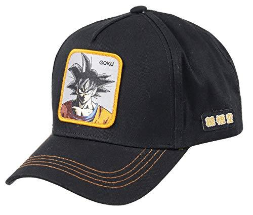 Capslab Gorra Negra Goku Dragon Ball
