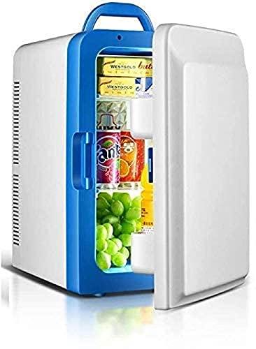 Llevar un refrigerador pequeño del coche, refrigerador eléctrico y refrigerador ajustable de la preservación del calor desmontable, adecuado para el refrigerador de la oficina del dormitorio