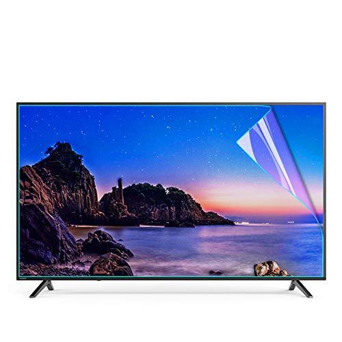 GFSD Blaulichtfilter Hohe Lichtdurchlässigkeit Tv Entspiegelungsfolie Augen Schützen Strahlung Reduzieren,Verschiedene Größen (Color : HD Version, Size : 40 inch 875 * 483mm)