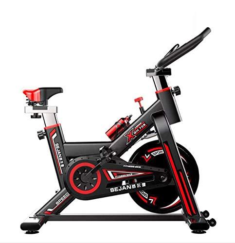 Indoor Cycling Hometrainer Cycling Monitor Afstand, snelheid, tijd, hartslag en calorieën met gebruik van kilometerteller Slijtvast met roestvrijstalen ketel