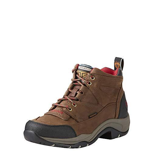 Ariat Terrain Waterproof Hiking Boot – Women's Leather Waterproof Outdoor Hiking Boots