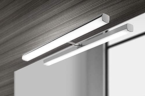 Lámpara de baño NEXT LED, Lámpara de espejo Aplique de Baño 49CM. Led, 5700k, 6 w de potencia, perfecto para el baño. [Clase de eficiencia energética A++]. IP44 impermeable